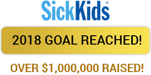 Over $1000000 raised for Sick Kids